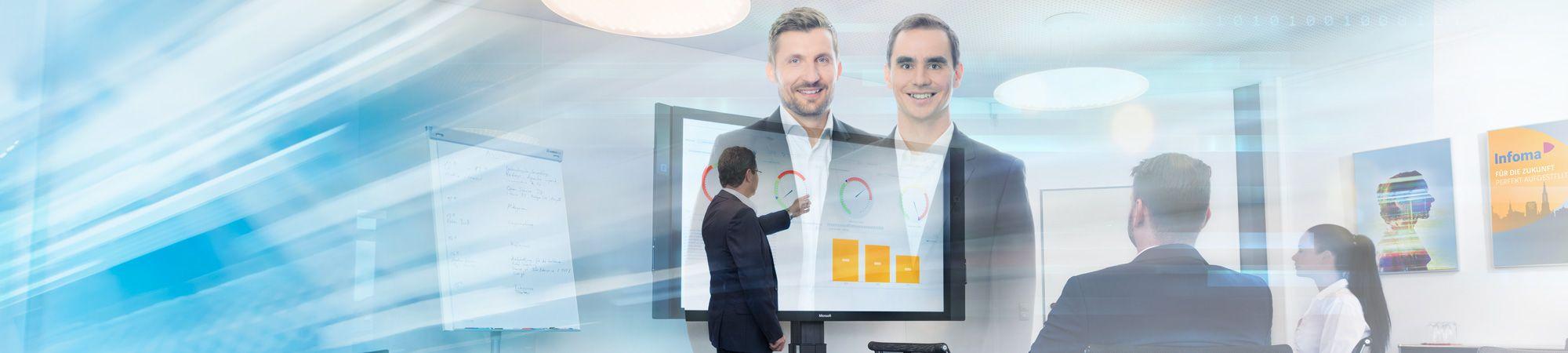 Berichtswesen Plus und Business Intelligence – Liefern einheitliche und zentrale Informationen für alle Anwender