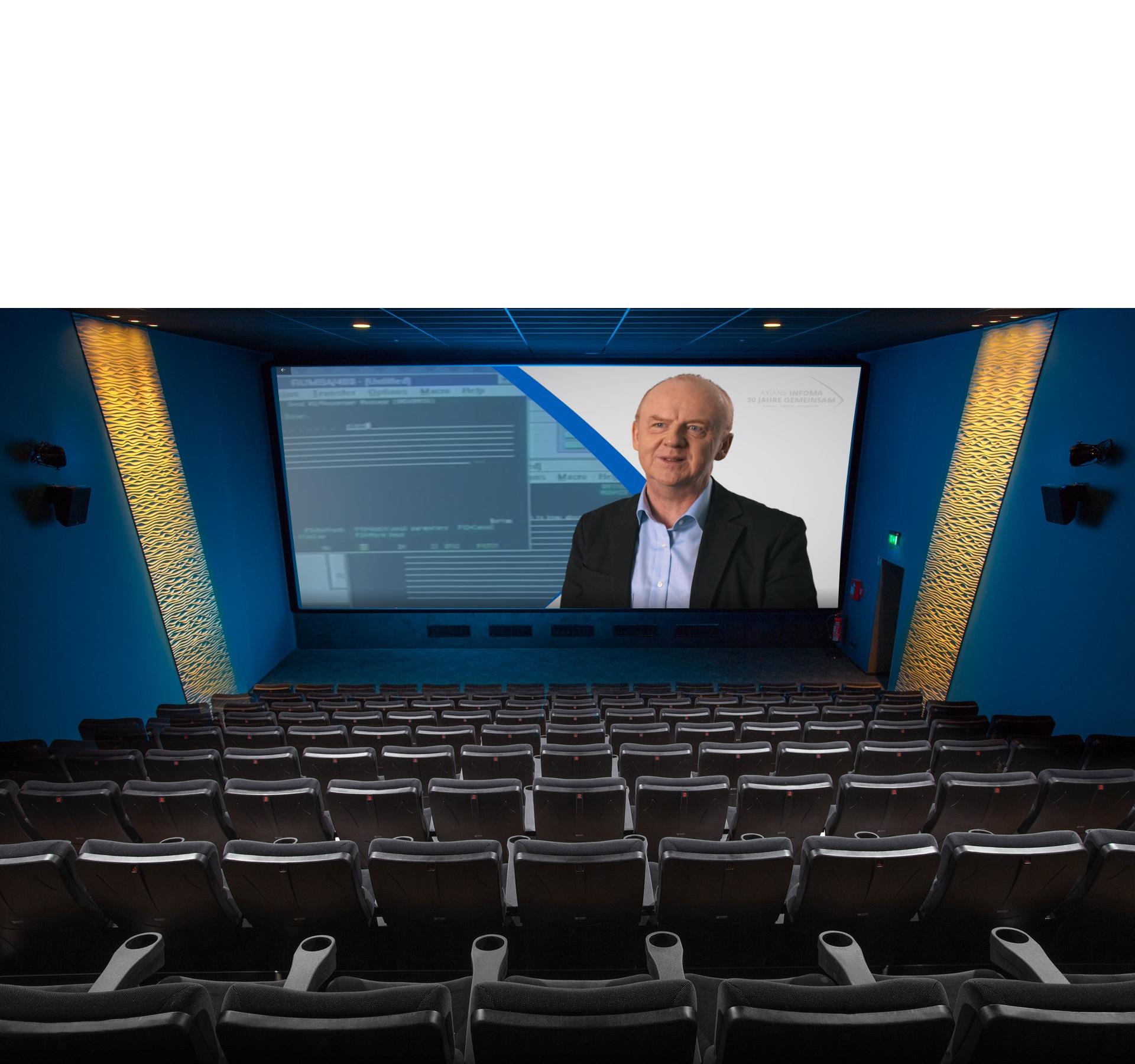 Großes Kino: Axians Infoma Jubiläumsfilm