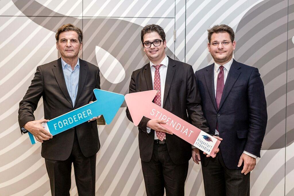 Axians Infoma engagiert sich bei Klagenfurt-Stipendium der Alpen-Adria-Universität