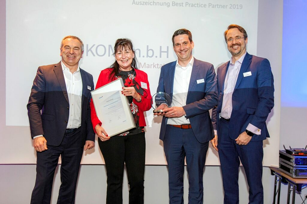 ÖKOM erhält Auszeichnung als Best Practice Partner
